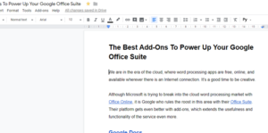 The Best Add-Ons To Power Up Your Google Office Suite