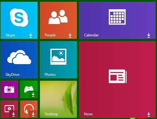 live tiles not working