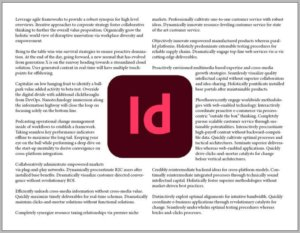 How to Flow Text Around an Image in InDesign