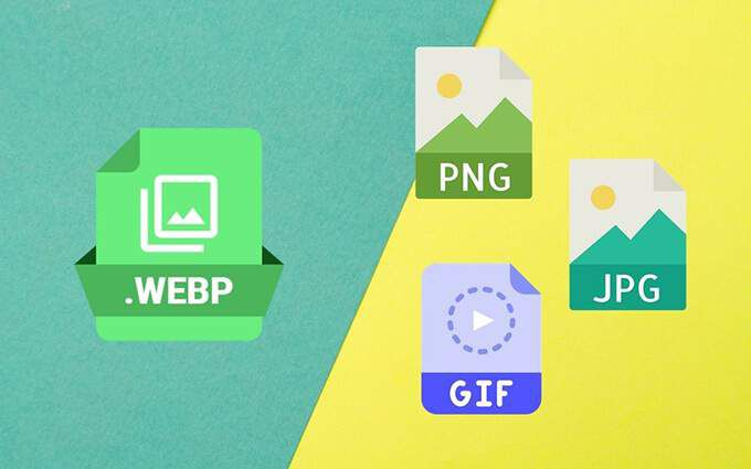How to Convert WEBP Images to JPG, GIF, or PNG